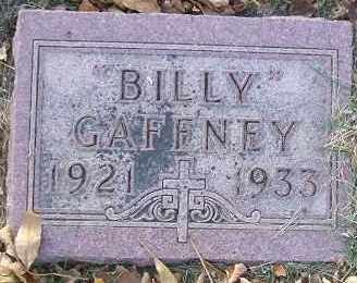 GAFFNEY, BILLY - Minnehaha County, South Dakota   BILLY GAFFNEY - South Dakota Gravestone Photos