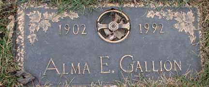 GALLION, ALMA E. - Minnehaha County, South Dakota | ALMA E. GALLION - South Dakota Gravestone Photos