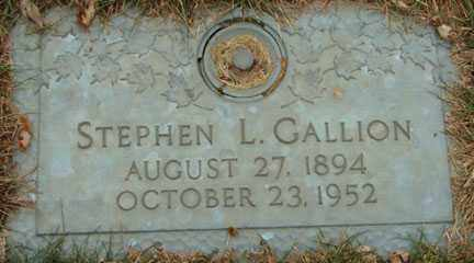 GALLION, STEPHEN L. - Minnehaha County, South Dakota | STEPHEN L. GALLION - South Dakota Gravestone Photos