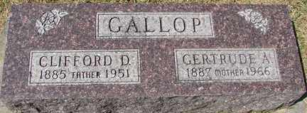 GALLOP, GERTRUDE A. - Minnehaha County, South Dakota   GERTRUDE A. GALLOP - South Dakota Gravestone Photos