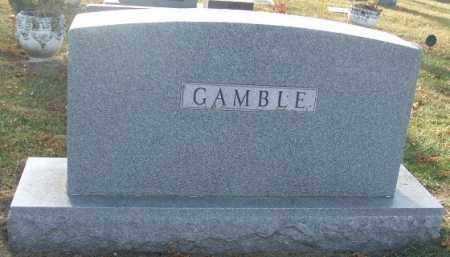 GAMBLE, FAMILY STONE - Minnehaha County, South Dakota | FAMILY STONE GAMBLE - South Dakota Gravestone Photos