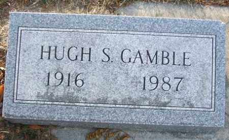 GAMBLE, HUGH S. - Minnehaha County, South Dakota | HUGH S. GAMBLE - South Dakota Gravestone Photos