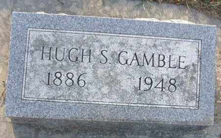 GAMBLE, HUGH S. - Minnehaha County, South Dakota | HUGH S. GAMBLE - South Dakota Gravestone Photos