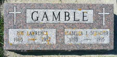 GAMBLE, ROY LAWRENCE - Minnehaha County, South Dakota | ROY LAWRENCE GAMBLE - South Dakota Gravestone Photos