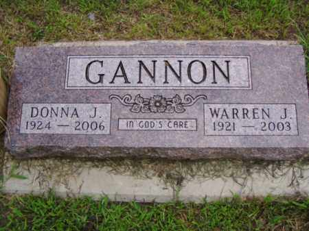 GANNON, DONNA J. - Minnehaha County, South Dakota | DONNA J. GANNON - South Dakota Gravestone Photos