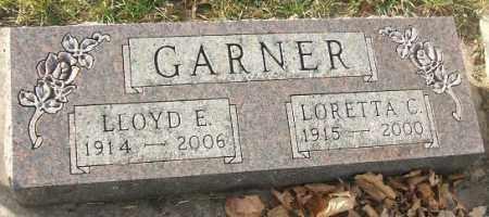 GARNER, LORETTA C. - Minnehaha County, South Dakota   LORETTA C. GARNER - South Dakota Gravestone Photos