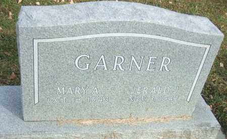 GARNER, MARY A. - Minnehaha County, South Dakota | MARY A. GARNER - South Dakota Gravestone Photos