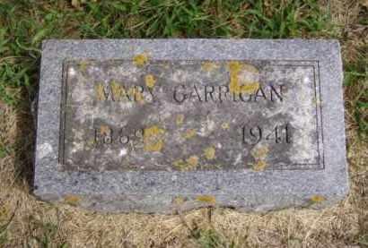GARRIGAN, MARY - Minnehaha County, South Dakota   MARY GARRIGAN - South Dakota Gravestone Photos