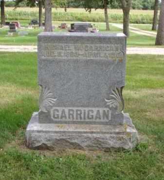 GARRIGAN, MICHAEL W. - Minnehaha County, South Dakota | MICHAEL W. GARRIGAN - South Dakota Gravestone Photos
