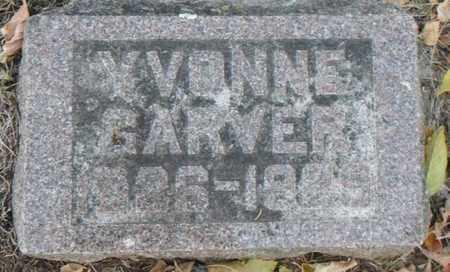 GARVER, YVONNE - Minnehaha County, South Dakota | YVONNE GARVER - South Dakota Gravestone Photos