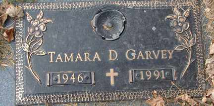 GARVEY, TAMARA D. - Minnehaha County, South Dakota | TAMARA D. GARVEY - South Dakota Gravestone Photos
