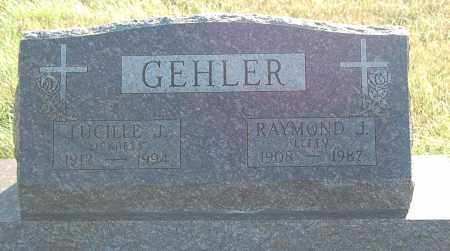 GEHLER, LUCILLE J. - Minnehaha County, South Dakota | LUCILLE J. GEHLER - South Dakota Gravestone Photos