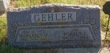 GEHLER, MARGARET M. - Minnehaha County, South Dakota | MARGARET M. GEHLER - South Dakota Gravestone Photos