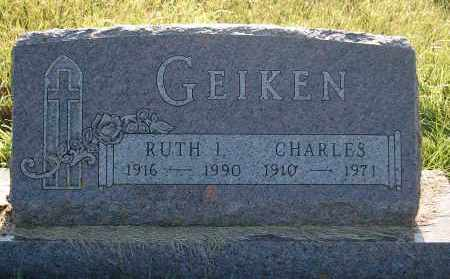 GEIKEN, CHARLES - Minnehaha County, South Dakota | CHARLES GEIKEN - South Dakota Gravestone Photos