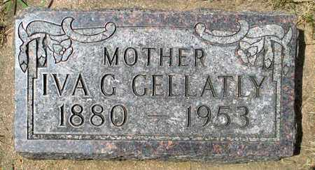 BASCOM GELLATLY, IVA GRACE - Minnehaha County, South Dakota | IVA GRACE BASCOM GELLATLY - South Dakota Gravestone Photos