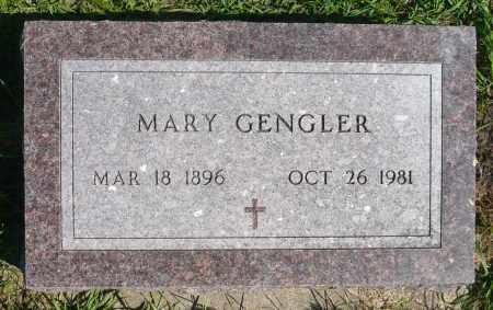 BORMANN GENGLER, MARY - Minnehaha County, South Dakota | MARY BORMANN GENGLER - South Dakota Gravestone Photos