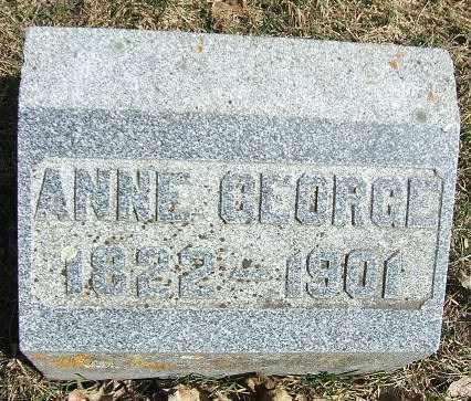GEORGE, ANNE - Minnehaha County, South Dakota | ANNE GEORGE - South Dakota Gravestone Photos