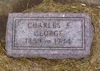 GEORGE, CHARLES F. - Minnehaha County, South Dakota   CHARLES F. GEORGE - South Dakota Gravestone Photos