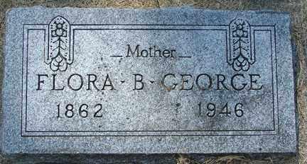 GEORGE, FLORA B. - Minnehaha County, South Dakota | FLORA B. GEORGE - South Dakota Gravestone Photos