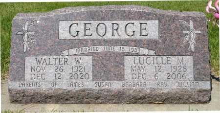 GEORGE, LUCILLE M. - Minnehaha County, South Dakota | LUCILLE M. GEORGE - South Dakota Gravestone Photos