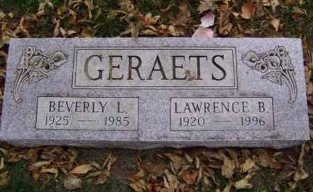 GERAETS, BEVERLY L. - Minnehaha County, South Dakota | BEVERLY L. GERAETS - South Dakota Gravestone Photos