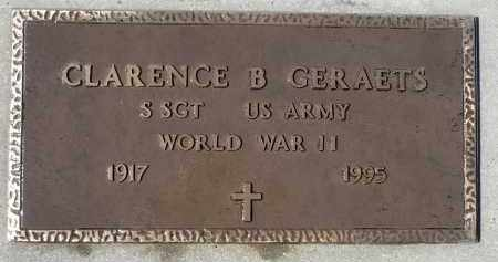 GERAETS, CLARENCE B. (WWII) - Minnehaha County, South Dakota | CLARENCE B. (WWII) GERAETS - South Dakota Gravestone Photos
