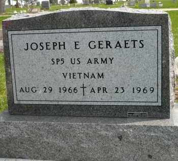 GERAETS, JOSEPH E. (VIETNAM) - Minnehaha County, South Dakota   JOSEPH E. (VIETNAM) GERAETS - South Dakota Gravestone Photos