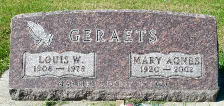 GERAETS, LOUIS W. - Minnehaha County, South Dakota | LOUIS W. GERAETS - South Dakota Gravestone Photos