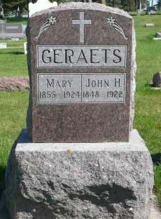GERAETS, JOHN H. - Minnehaha County, South Dakota | JOHN H. GERAETS - South Dakota Gravestone Photos