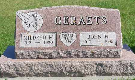 GERAETS, JOHN H. - Minnehaha County, South Dakota | JOHN H. GERAETS - South Dakota Gravestone Photos