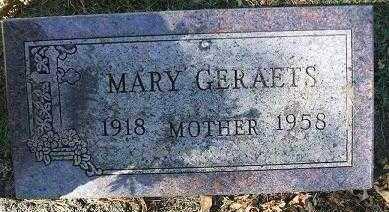 GERAETS, MARY - Minnehaha County, South Dakota | MARY GERAETS - South Dakota Gravestone Photos