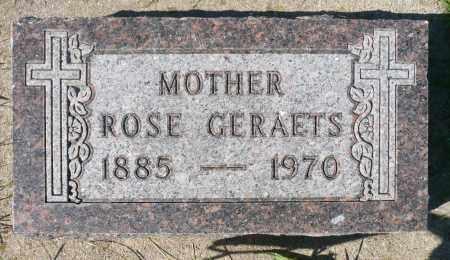 GERAETS, ROSE - Minnehaha County, South Dakota | ROSE GERAETS - South Dakota Gravestone Photos
