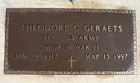 GERAETS, THEODORE C. (WWII) - Minnehaha County, South Dakota   THEODORE C. (WWII) GERAETS - South Dakota Gravestone Photos