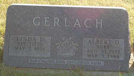 GERLACH, LINDA D. - Minnehaha County, South Dakota | LINDA D. GERLACH - South Dakota Gravestone Photos
