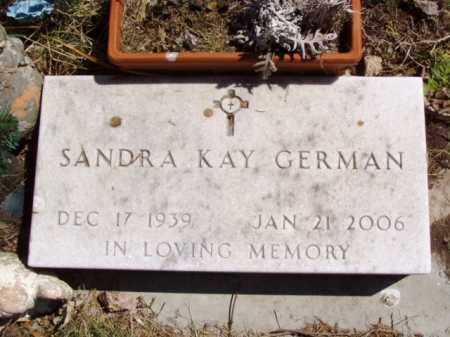 GERMAN, SANDRA KAY - Minnehaha County, South Dakota | SANDRA KAY GERMAN - South Dakota Gravestone Photos