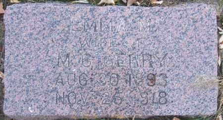 GERRY, EMMA M. - Minnehaha County, South Dakota | EMMA M. GERRY - South Dakota Gravestone Photos
