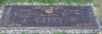 GERRY, E. SALLY - Minnehaha County, South Dakota | E. SALLY GERRY - South Dakota Gravestone Photos