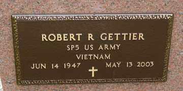 GETTIER, ROBERT R. (VIETNAM) - Minnehaha County, South Dakota | ROBERT R. (VIETNAM) GETTIER - South Dakota Gravestone Photos