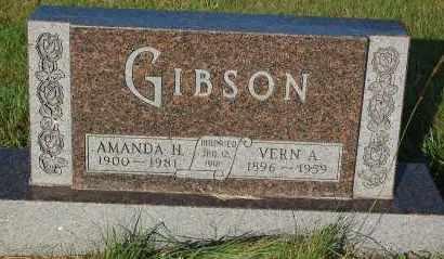 GIBSON, VERN A. - Minnehaha County, South Dakota | VERN A. GIBSON - South Dakota Gravestone Photos