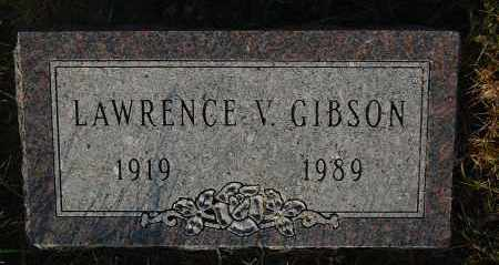 GIBSON, LAWRENCE V. - Minnehaha County, South Dakota | LAWRENCE V. GIBSON - South Dakota Gravestone Photos