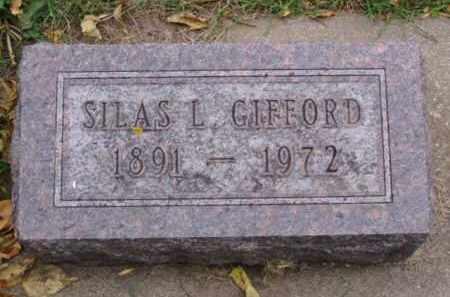 GIFFORD, SILAS L. - Minnehaha County, South Dakota | SILAS L. GIFFORD - South Dakota Gravestone Photos