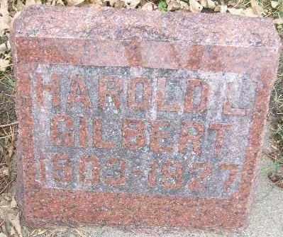GILBERT, HAROLD L. - Minnehaha County, South Dakota | HAROLD L. GILBERT - South Dakota Gravestone Photos
