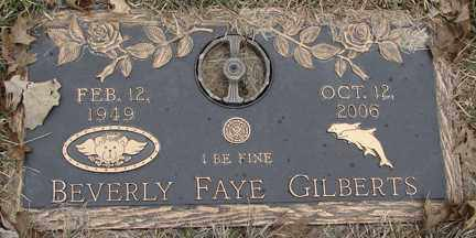 GILBERTS, BEVERLY FAYE - Minnehaha County, South Dakota | BEVERLY FAYE GILBERTS - South Dakota Gravestone Photos