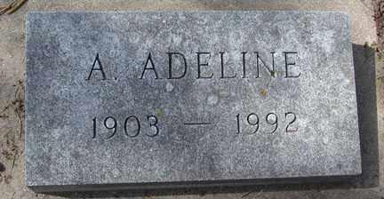 GILL, A. ADELINE - Minnehaha County, South Dakota | A. ADELINE GILL - South Dakota Gravestone Photos