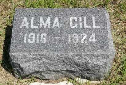 GILL, ALMA - Minnehaha County, South Dakota | ALMA GILL - South Dakota Gravestone Photos