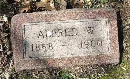 GILL, ALFRED W. - Minnehaha County, South Dakota   ALFRED W. GILL - South Dakota Gravestone Photos