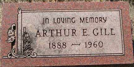 GILL, ARTHUR E. - Minnehaha County, South Dakota | ARTHUR E. GILL - South Dakota Gravestone Photos