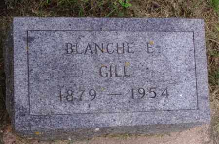 GILL, BLANCHE E. - Minnehaha County, South Dakota | BLANCHE E. GILL - South Dakota Gravestone Photos