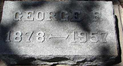 GILL, GEORGE F. - Minnehaha County, South Dakota | GEORGE F. GILL - South Dakota Gravestone Photos