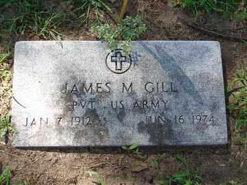 GILL, JAMES M. - Minnehaha County, South Dakota | JAMES M. GILL - South Dakota Gravestone Photos